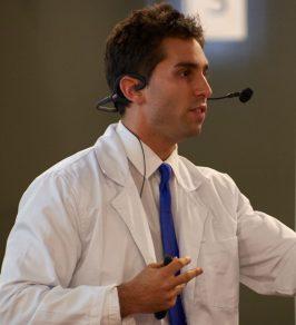 Dr. Dan presenting at Mega Motivation